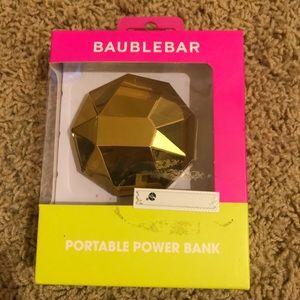 BaubleBar Phone Power Bank